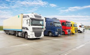 Fleet of Trucks at Cashflow Recovery